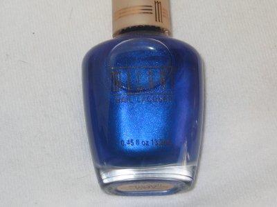 MILANI Nail Polish  #18 BLUE NILE a Deep Sapphire Blue Polish Shade