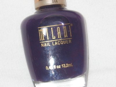 MILANI Nail Polish  #14 GOOD GIRL GRAPE a Matte Grape Purple Shade