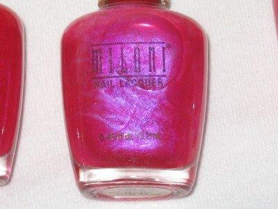 MILANI Nail Polish  #1 HOTTEST PINK Iridescent Hot! HOT Pink shade