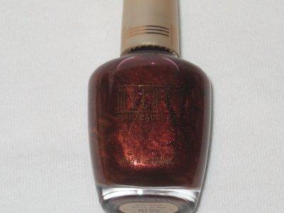 MILANI Nail Polish  #35 BROWN-A-LICIOUS Pearlized Metallic Gorgeous MILK CHOCOLATE Polish