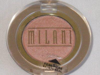 MILANI EyE Shadow Compact #08A PEACHY PEACH SHimmer Peach Eyeshadow NEW SEALED