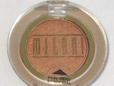MILANI EyE Shadow Compact #01 DESERT SUN Shimmer Sandy gold Eyeshadow NEW SEALED