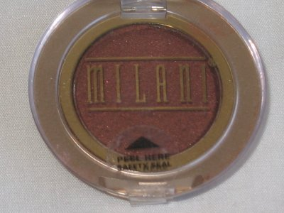 MILANI EyE Shadow Compact #09 SPICE Shimmer Dark Nutmeg Eyeshadow NEW SEALED