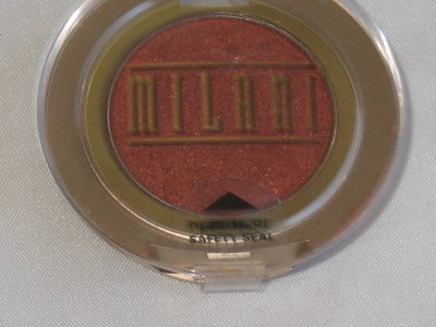 MILANI EyE Shadow Compact #04 FLARE Shimmer Dark Rust Eyeshadow NEW SEALED