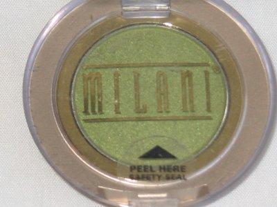 MILANI EyE Shadow Compact #02 GARDEN MIST Shimmer Green Eyeshadow NEW SEALED