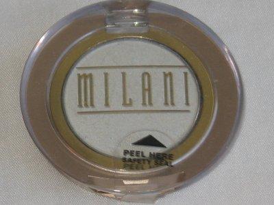 MILANI EyE Shadow Compact #13 MOONLIGHT Matte Off-White Eyeshadow NEW SEALED