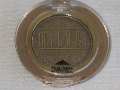 MILANI EyE Shadow Compact #17 ANTIQUE GOLD Shimmer Green Gold Eyeshadow NEW SEALED
