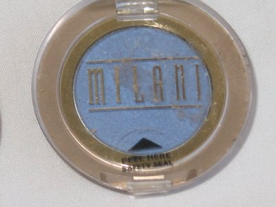 MILANI EyE Shadow Compact #08 WATER COOLER Shimmer Medium Light Blue Eyeshadow NEW SEALED