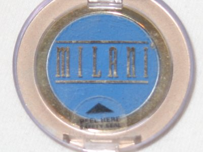 MILANI EyE Shadow Compact #06 ATLANTIS Matte Bright Sea Blue Eyeshadow NEW SEALED