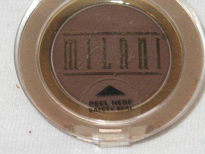 MILANI EyE Shadow Compact #24 RICH CHOCOLATE  Matte Dark Chocolate Eyeshadow NEW SEALED