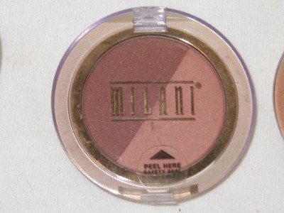 MILANI Double Impact Powder BLUSH Compact #03 COFFEE N CREAM Blush NEW SEALED