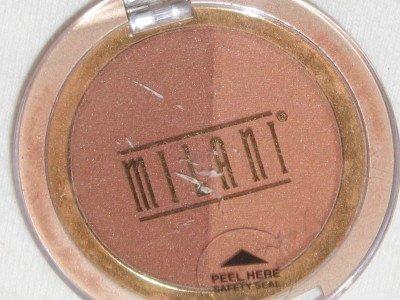 MILANI Double Impact Powder BLUSH Compact #01 BRONZE BEAUTIES Blush Bronzer NEW SEALED