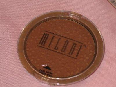 MILANI Powder BRONZER Compact #02 MEDIUM Bronzer Blush NEW SEALED