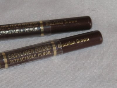 2 MILANI EASYLINER Retractable EYE Liner BRAZILIAN BROWN Automatic BROWN EyeLiner NEW SEALED