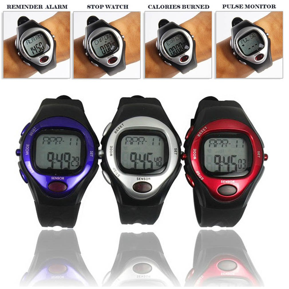NEW! Pulse Heart Rate Monitor Watch with Calorie Counter!