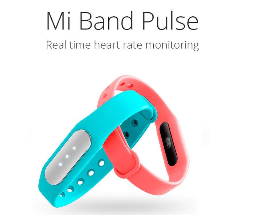 Mi Pulse 1 Smart Bracelet RealTime Heart Rate Monitor Bluetooth 4.0 IP67, Pedometer, Sleep Tracker