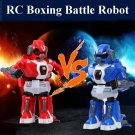2PCS RC Intelligent Boxing Battle Robot with Light and Music