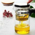 Elegant Stylish Glass 500ml TeapotTea Maker With Stainless Steel Filter