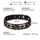 100% Titanium Bracelet Magnetic Germanium Power Bracelet Health Bracelet 6 words of religion