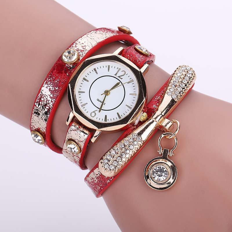 New Arrival! Women Fashion Bracelet Watch Luxury Ladies Dress Watch Vintage Quartz Clock