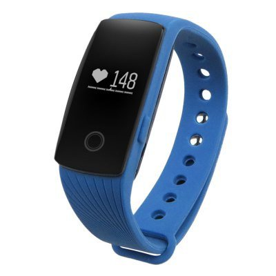 ID107HRM Fitness Tracker Heart Rate Monitor Pedometer Sleep Calorie Remote Cam