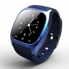 Amazen PWR-M26 Bluetooth Smart Watch w/Phone Call Music Player for Android - Blue