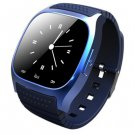 R-Watch M26S Bluetooth Smart Watch w LED Display Music Player Pedometer for Android iOS - BlUE