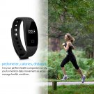 Smart Bracelet Fitness Tracker Heart Rate Monitor Pedometer Sleep Calorie Monitor Remote Cam Watch