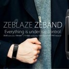 Best Seller! Latest Zeblaze BTH 4.0 Heart Rate Monitor Smart Wristband Aluminum Case