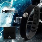 Super Hero Power Ionics 3000 ions Sports Titanium Energy Bracelet Wristband