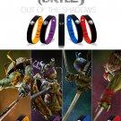Power Ionics Ninja 4in1 Titanium/Ge/F.I.R/ tourmaline 3000ions/cc Sports Waterproof Bracelet