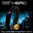 Super Hero Power Ionics 3000 ions IDEA BAND Sports Titanium Energy Bracelet Wristband