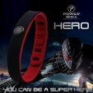 Super Hero Power Ionics 3000 ions IDEA BAND Sports Titanium Bracelet Wristband