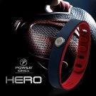 SUPERMAN Super Hero Power Ionics 3000 ions IDEA BAND Sports Titanium Energy Bracelet