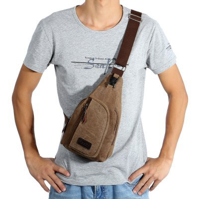 "5L ""Flash"" Leisure Canvas Sports Sling Bag"
