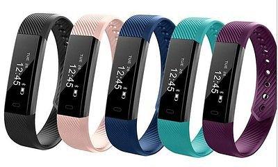 2017 Latest Model! IDO 115HR Smart Bracelet Heart Rate Fitness Health Tracker