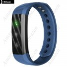 2017 Latest Model! ID115HR Smart Bracelet Heart Rate Fitness Health Tracker - Blue