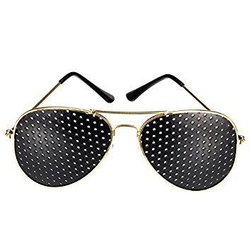 pinhole vision stenopeic glasses sunglasses for