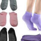 Pilates Yoga Anti Not Slip Grip Cotton Socks - 3 Pairs