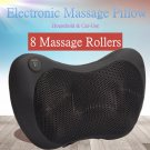 8 Rollers Personal Heating Kneading Massage Pillow!