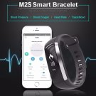 XM2-S Pro Smart Watch Bracelet Fitness Tracker Blood Pressure/Oxygen/Heart Rate/Fatigue - Black