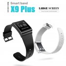 X9 Plus Smart Bracelet Oximeter Blood Pressure Heart Rate Monitor Call SMS Reminder Sports Tracker