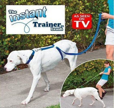 Instant Anti Pulling Training Dog Leash - 2 Pcs