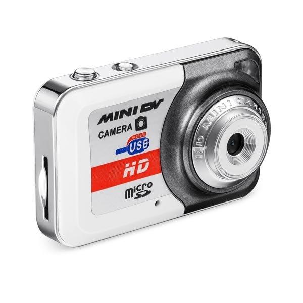 X6 Mini DV DVR Camera Recorder Video Sports Camera - White