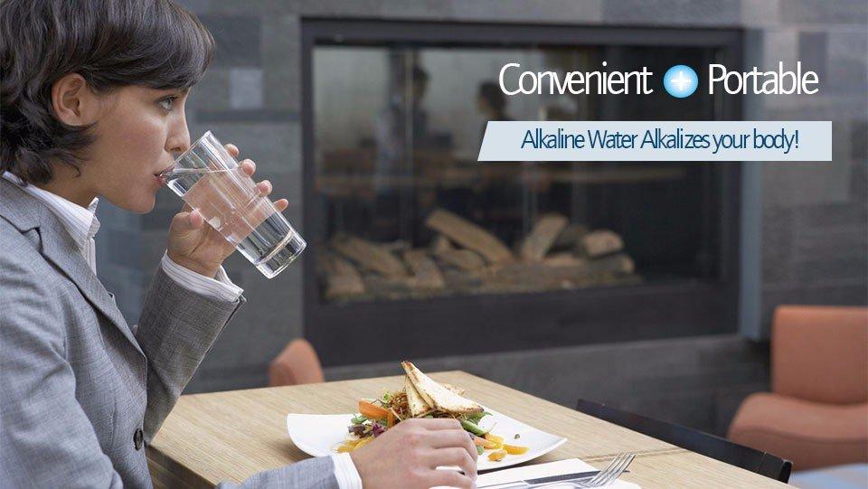 ALKALINE HYDROGEN NEGATIVE ION WATER IONIZER STICK - 1PC