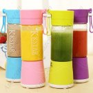 Mini Size Electric Juicer USB Charger with 380ml Water Bottle