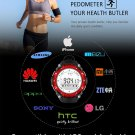 SW80 30M Waterproof Bluetooth Spotwatch Pedometer Smart Wristband Watch for Android