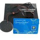 High Technology Health Scalar Energy Quantum Pendant Necklace with Authenticity Card (Black)