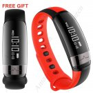 NEW MODEL! M6 Smart Health Tracker Sports Bracelet Heart Rate Blood Pressure IP67 - Black and Red