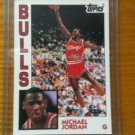 1981-91 TOPPS BASKETBALL ROOKIES -MICHAEL JORDAN 1ST TOPPS ROOKIE CARD+FREE CARD